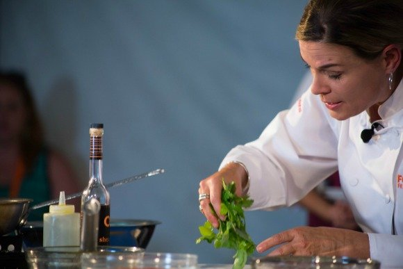 Cat Cora. Palm Desert Food and Wine. Photo Credit Dre Naylor