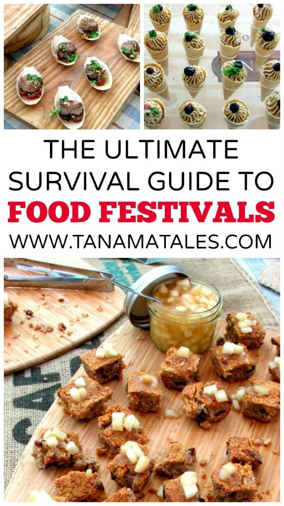 This guide offers several tips on how to survive food festivals. Get prepared and enjoy the event with your family or friends
