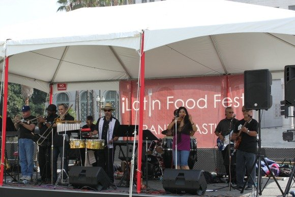 Latin Food Fest, Grand Park, Los Angeles, California
