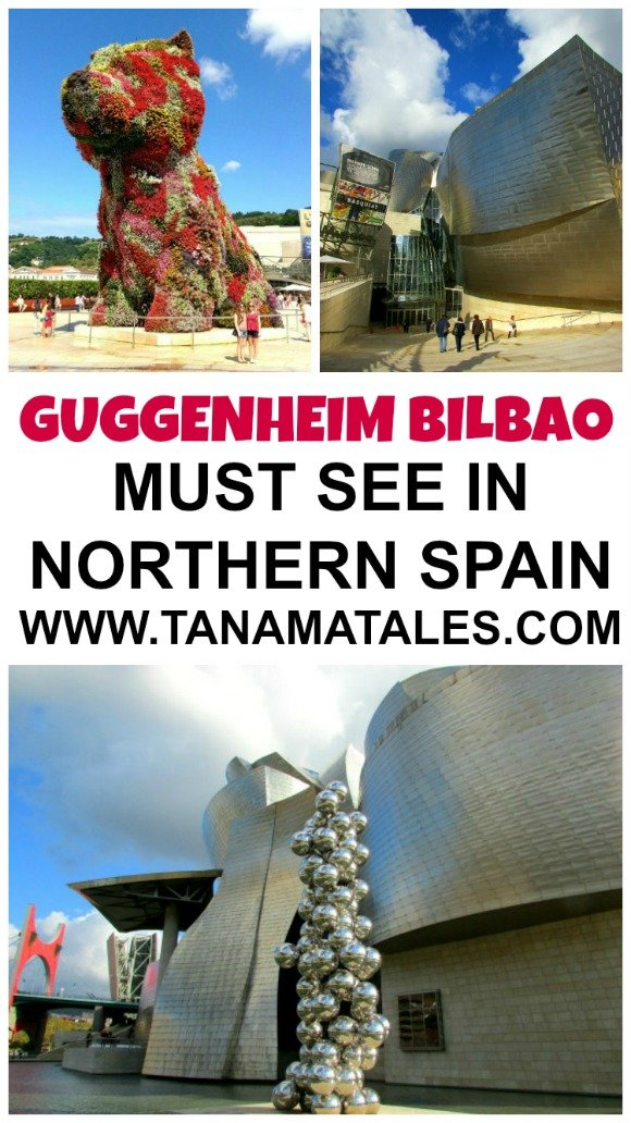The Guggenheim Museum Bilbao is a museum of modern and contemporary art designed by Frank Gehry and located in Bilbao, Spain.