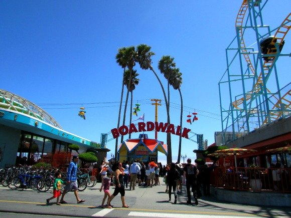 Santa Cruz Beach Boardwalk, Santa Cruz, California