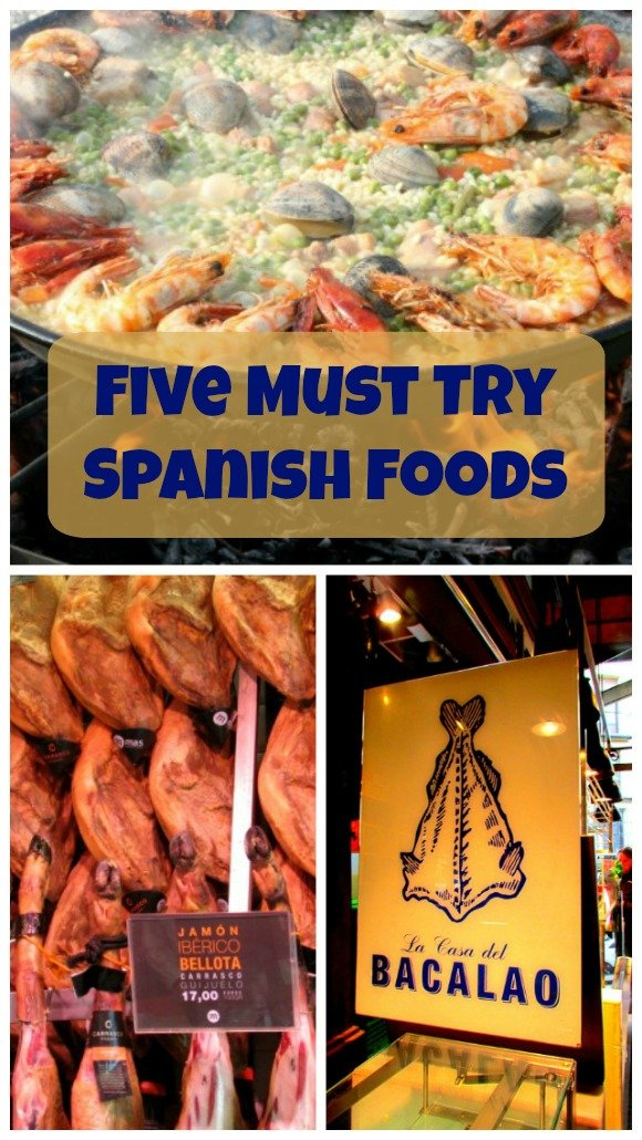 Five Spanish Food you Must Try. Do not miss these!