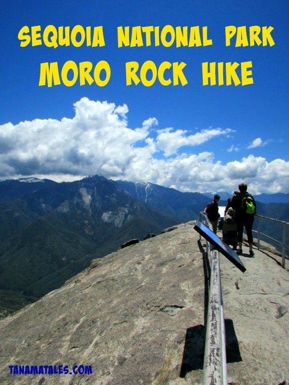 Take a look at how it feels to climb to the top of Moro Rock, Sequoia National Park, California