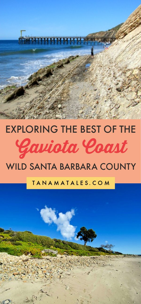Things to do in Santa Barbara, #California - The #Gaviota Coast is Southern California's largest stretch of undeveloped coastline.  Located in Northern Santa Barbara County, this 76-mile swath of pristine beaches and hilly landscapes counts with three state beaches (El Capitan, Refugio, and Gaviota) and countless wild beaches. This guide helps you to explore this area. #SantaBarbara #SouthernCalifornia