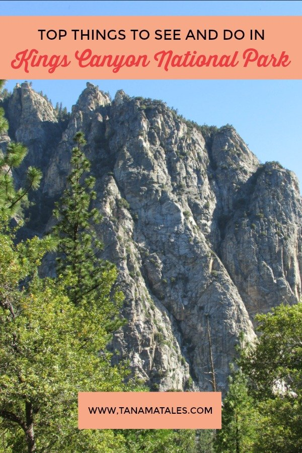 Top things to do in Kings Canyon National Park – Travel tips and ideas – Sequoia National Park is awesome but you want to check out this nearby park featuring the deepest canyon in the US, waterfalls, granite walls, hiking trails and camping opportunities.  Check out my guides of things to see and do! #California #SierraNevada #NationalPark #USA