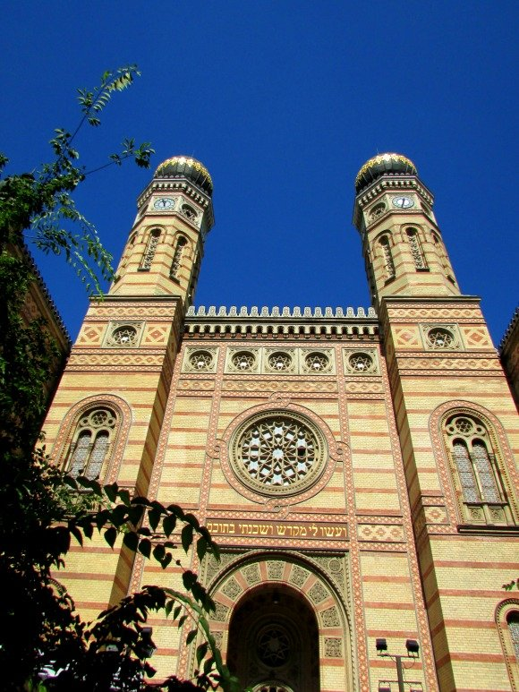 Dohany Street Synagogue, Yellow Zebra Bike Tours, Budapest