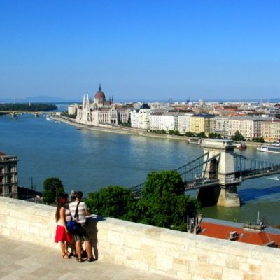 Budapest: The Chain Bridge and Buda Castle