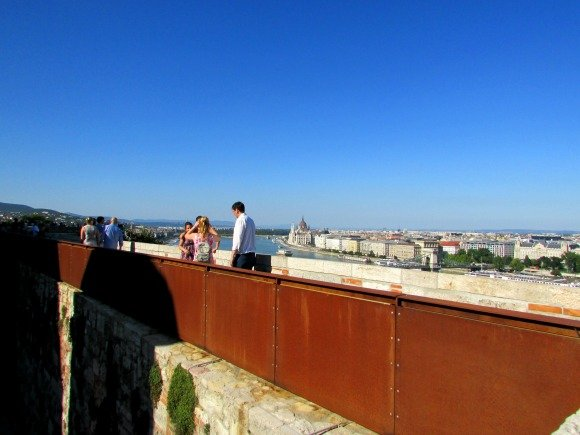 Views from Buda Castle, Budapest, Hungary