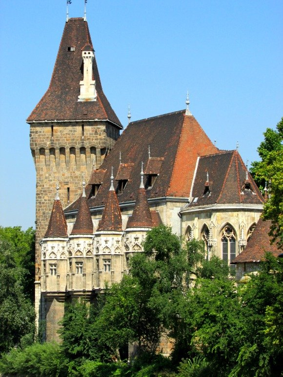 Vajdahunyad Castle, Yellow Zebra Bike Tours, Budapest