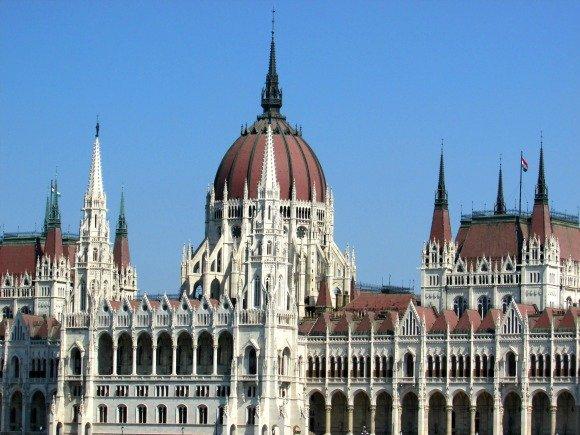 Parliament, Yellow Zebra Bike Tours, Budapest