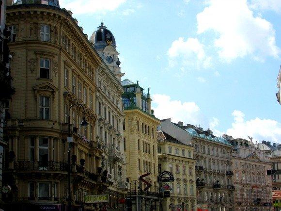 Old Town, Vienna, Austria