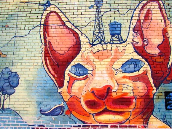 Murals and Street Art, Deep Ellum, Dallas, Texas