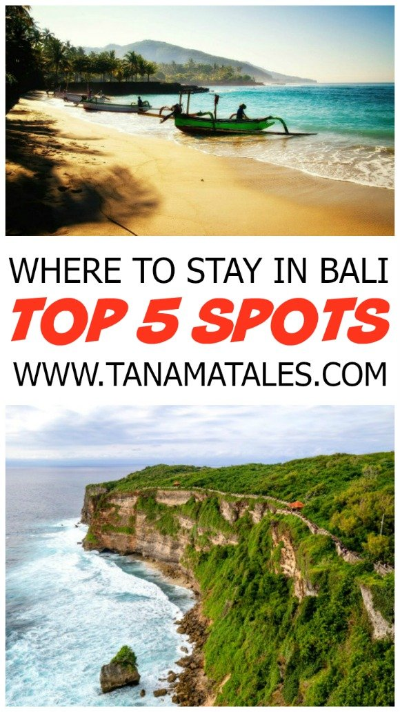 Top 5 Spots to Stay in Bali. Have a blast in these 5 cities!