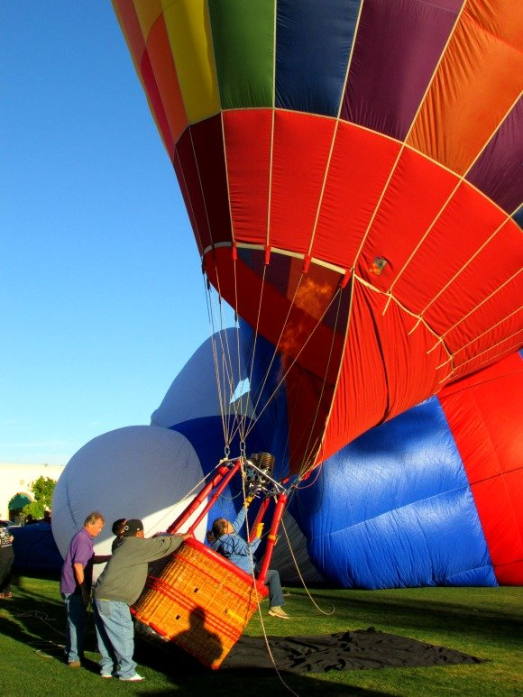 Balloon Festival, Cathedral City, California
