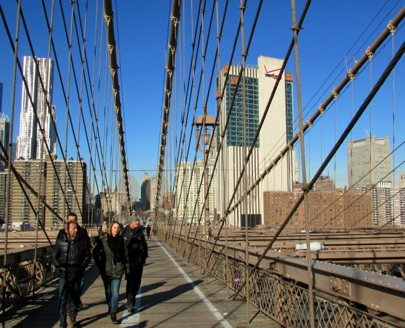 Brooklyn Bridge Tour, Manhattan and Brooklyn Boroughs, New York City