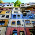 Weekend in Vienna , Hundertwasserhaus, Vienna, Austria