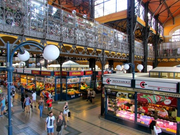 Great Market Hall, Budapest, Hungary