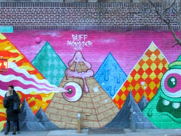 Where to find street art in Manhattan,The Bowery, NYC