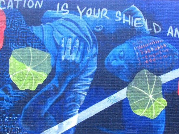 Where to find street art in Manhattan,Harlem, NYC