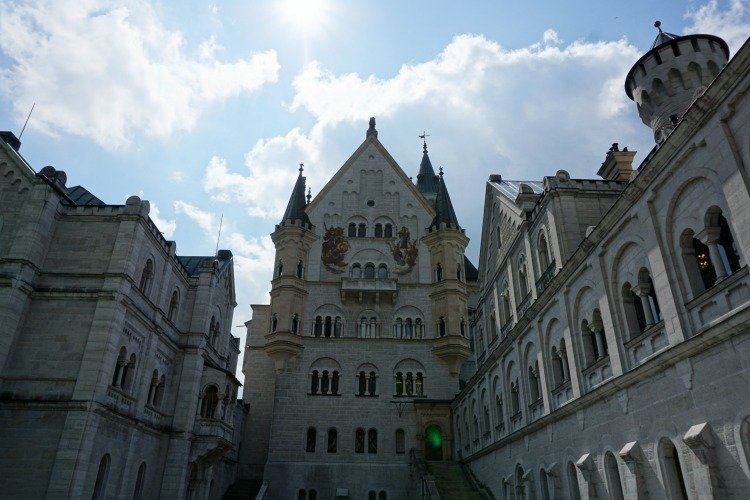 Neuschwanstein, Hohenschwangau, Castle, Palace, Munich, Fussen, Germany, Day Trip to Neuschwanstein