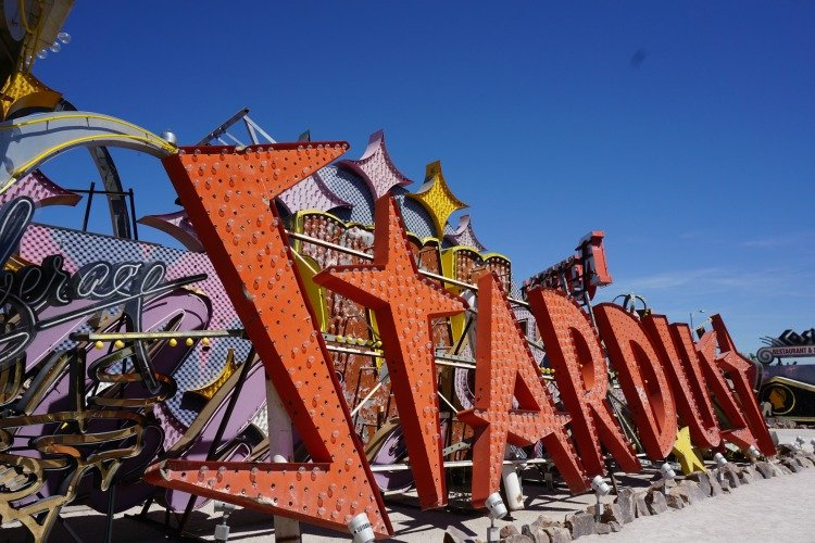 Neon Museum, Las Vegas, Nevada, Things to Do, Downtown, Unusual Things to Do