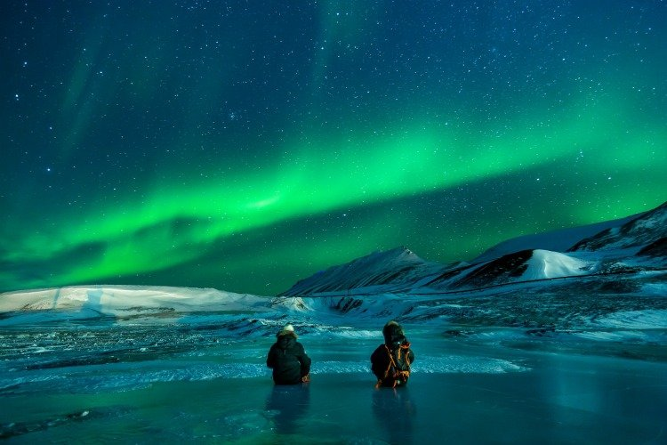 Arctic Cruise, Northern Lights, Aurora Borealis