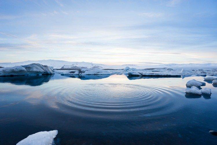 Arctic Cruise, Northern Lights, Aurora Borealis, Water, Ice