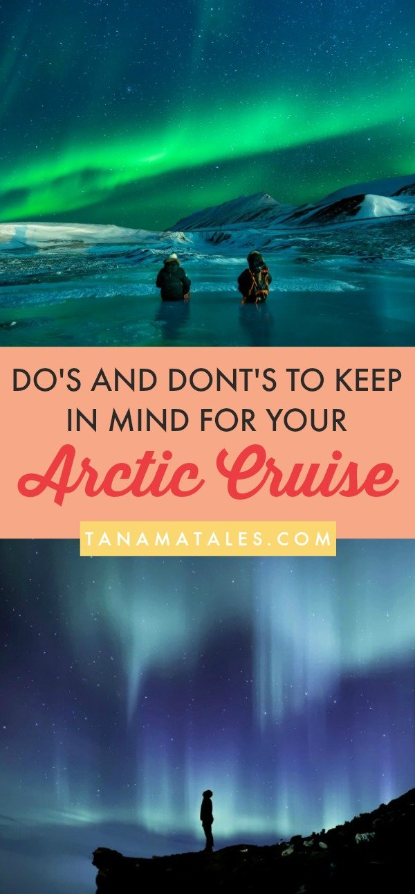 The Arctic Circle is a huge place, encompassing territories from multiple northern countries. Areas like Alaska, Greenland, Svalbard, Lapland, and others, ensure that you can plan your Arctic cruise without risking boredom. These lands full of adventure will make you cross a huge bucket list item (Northern Lights!)
