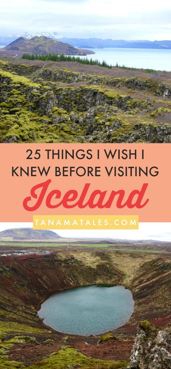 Iceland – Things to Do and Travel Tips – Even though the number of visitors to Iceland is increasing and information about the country is posted every second, I was stunned by all the situations and circumstances I had to face during my visit. And, on my trip, I visited popular places such as Reykyavik, the Golden Circle and the South Coast (not out off -the-beaten-path at all). Here are 25 things I wish I knew before visiting Iceland. Read before you go because a lot of them are related to money and budgets. I made a lot of mistakes. Do not repeat them!