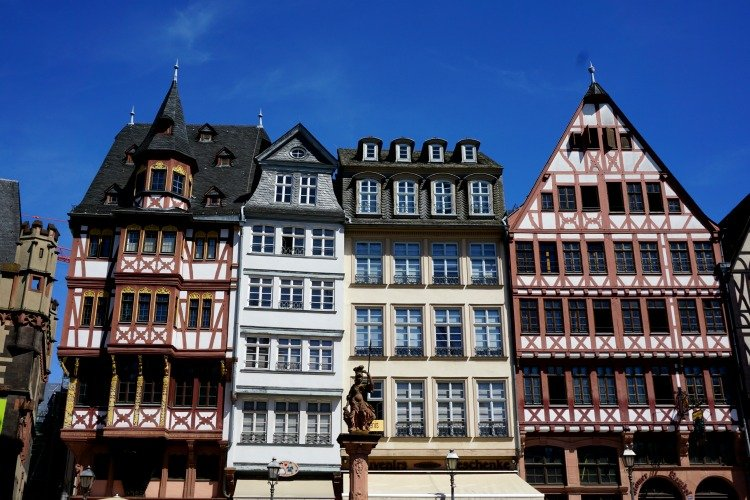 Frankfurt, Germany, Main River, Old Town