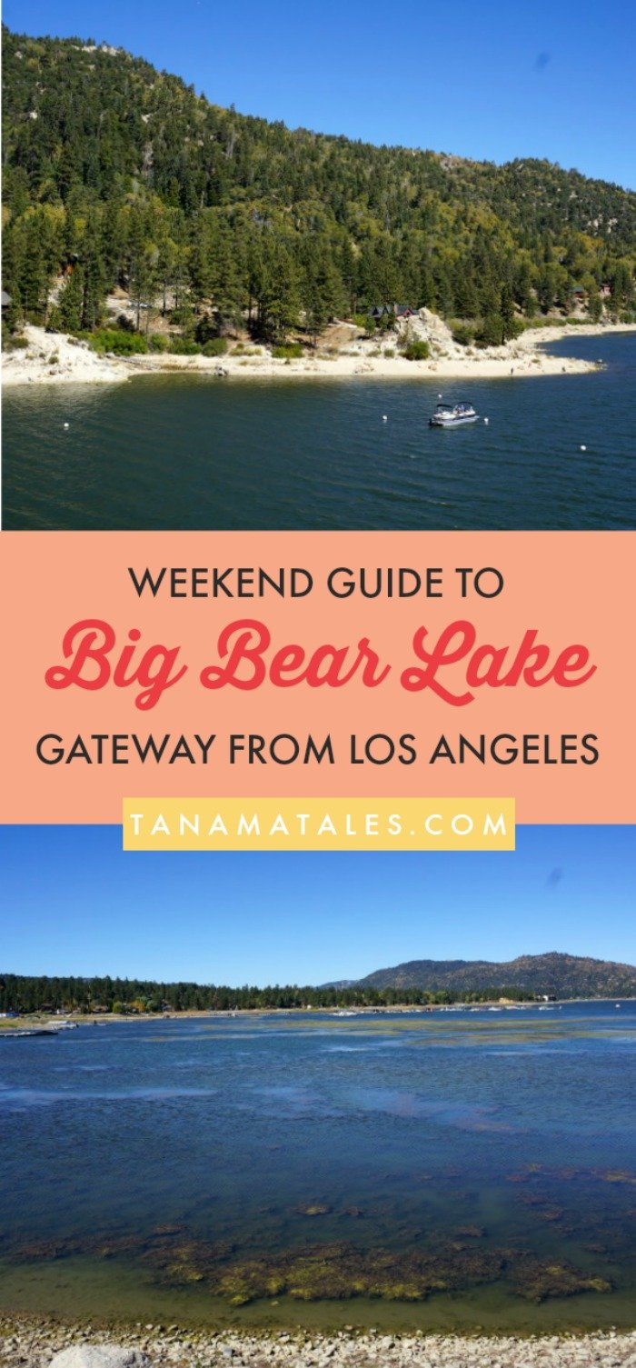 Things to do in Big Bear, California – Spring, summer and fall (not winter) activities – My guide to Big Bear Lake includes ideas on restaurants, hiking trails, viewpoints, boat tours and other aquatic activities. The area is a perfect day trip or weekend gateway from Los Angeles. You can fit a visit to Lake Arrowhead too!