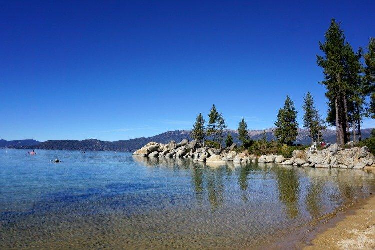 Sand harbor, Things to do in Lake Tahoe, Fun Things to do in Lake Tahoe, Summer Activities in Lake Tahoe, Nevada Side Lake Tahoe