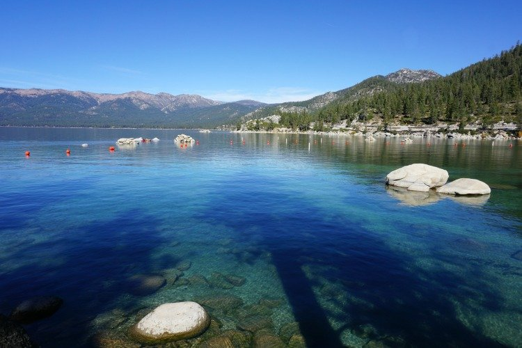 Sand harbor,, Things to do in Lake Tahoe, Fun Things to do in Lake Tahoe, Summer Activities in Lake Tahoe, Nevada Side Lake Tahoe