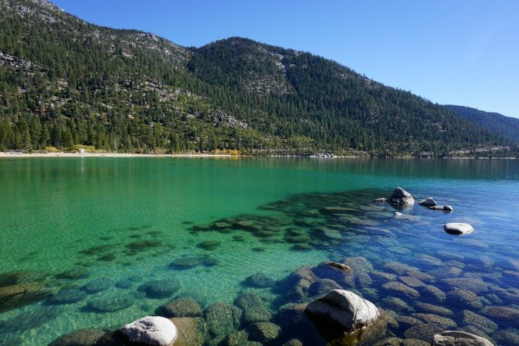 Sand Harbor Beach, Best Beaches in Lake Tahoe, Tahoe Beaches