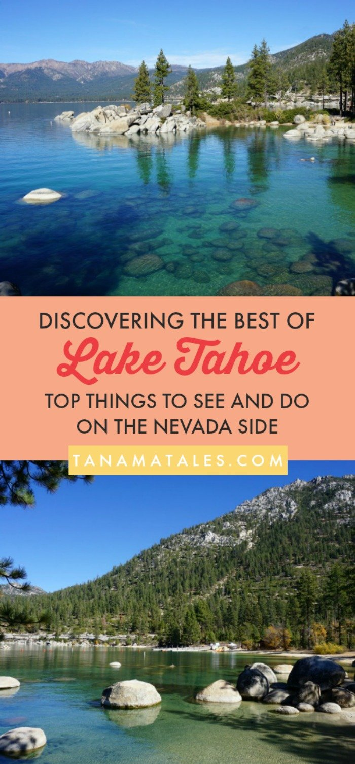 Things to do in #LakeTahoe, #California – Travel tips summer and winter – This article discusses the best spots to see on the #Nevada side of the lake. You can hike on the state parks (Spooner Lake, Sand Harbor), find amazing views (Cave Rock, Secret Harbor) or cruise around the lake (Zephyr Cove). It is your pick!