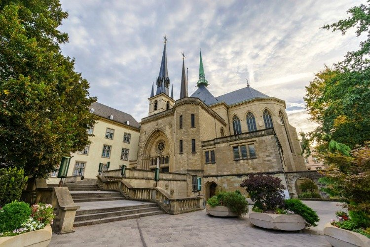 Notre-Dame Cathedral, Luxembourg Sightseeing