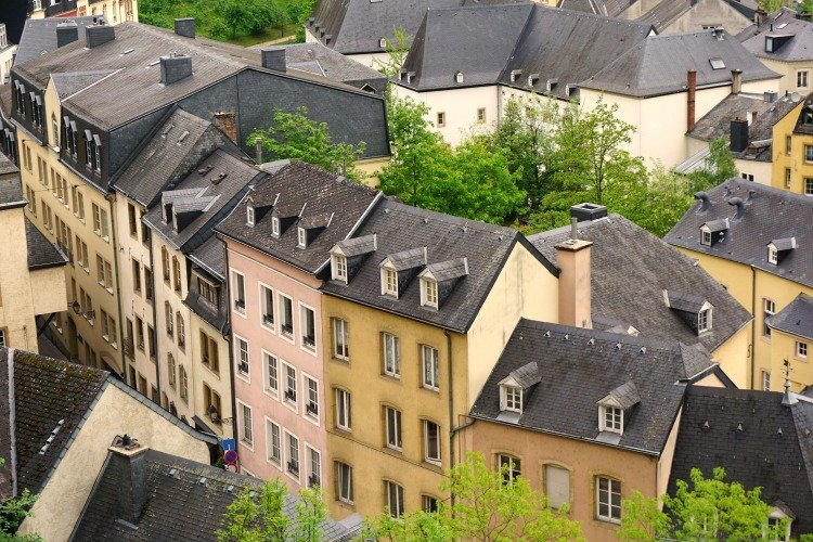 Views from Chemin de la Cornice, What to see in Luxembourg