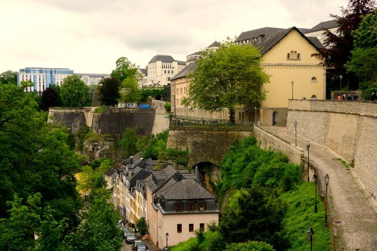 Ville Basse, Places to see in Luxembourg, City Walls