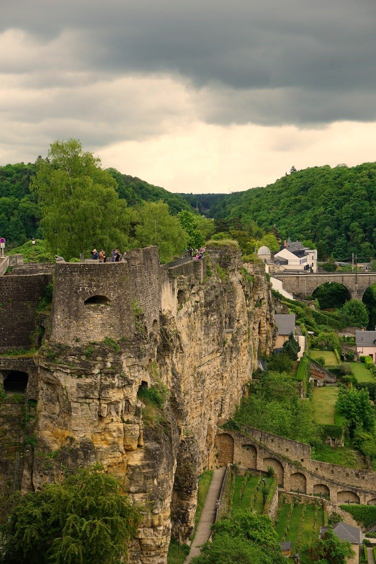 Bock Promontory and Casemates, Luxembourg City, What to see