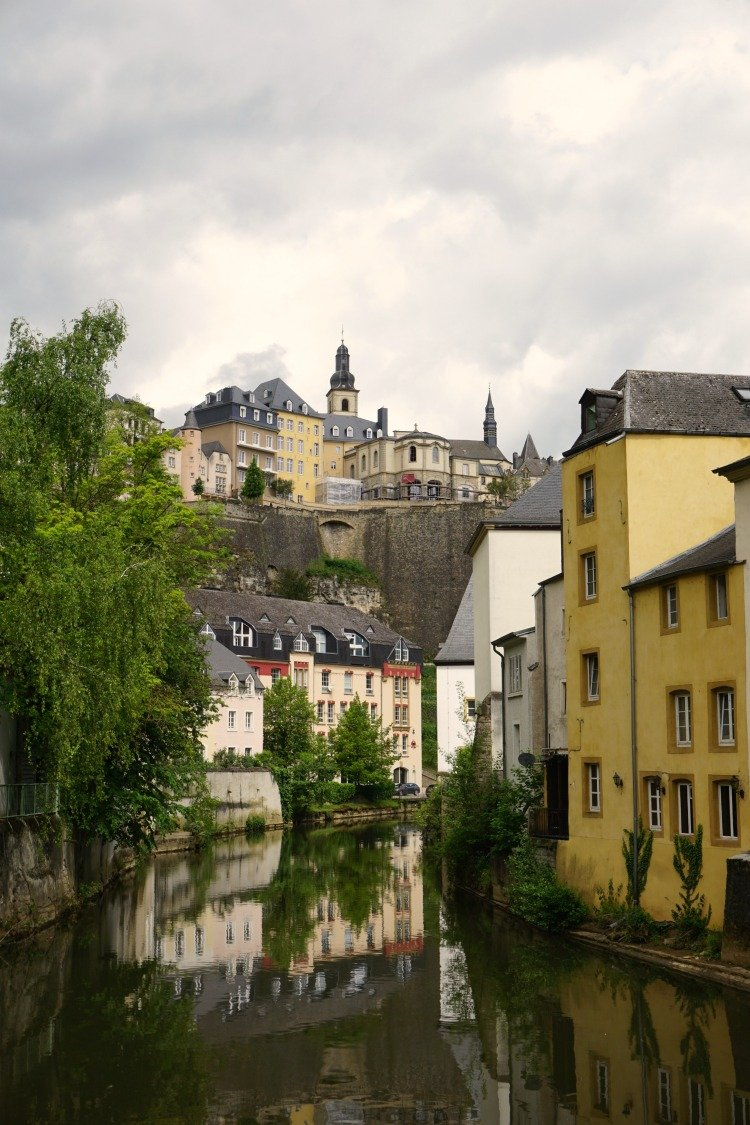 The Grund, Alzetter River, Luxembourg City