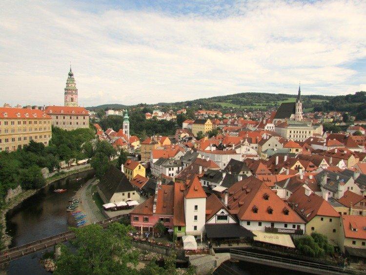Cesky Krumlov Castle Views