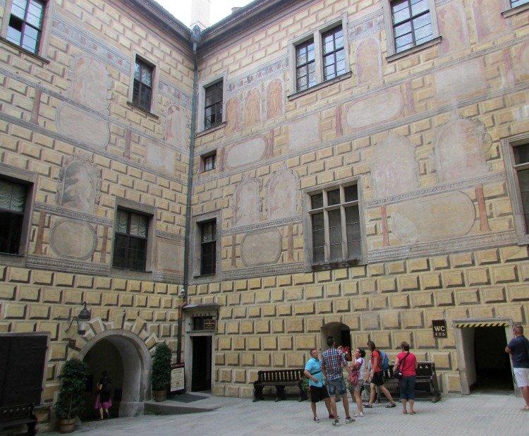 Bear Moat, Cesky Krumlov castle