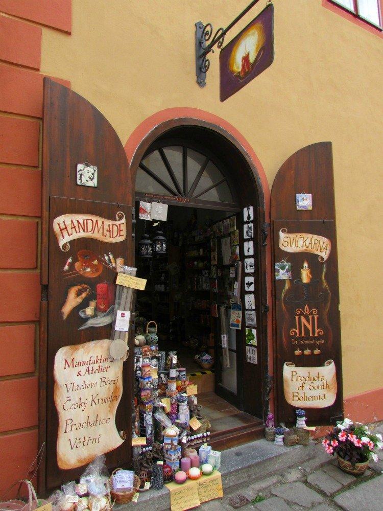 Cesky Krumlov Shopping