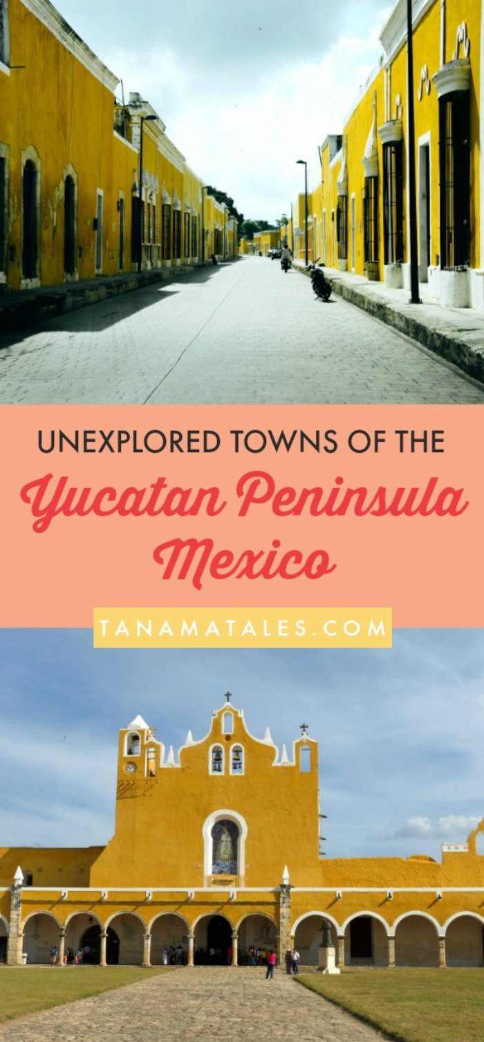 Things to do in #Yucatan and #QuintanRoo – Travel tips and ideas – This guide explores three of the unexplored towns on the Yucatan Peninsula. These locations have warm climate, Mayan ruins, beautiful beaches, nearby cenotes and small crowds (that is the big plus!). Take a look where you can relax! #Mexico #Izamal #Chetumal #Majajual