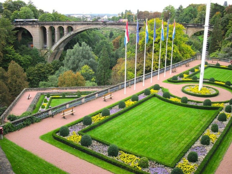 Petrusse Valley, Adolph Bridge, Luxembourg City