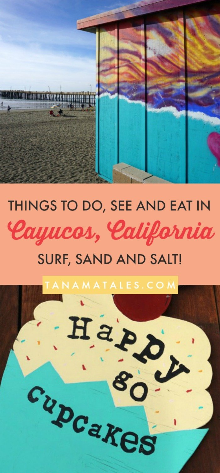 Top things to do in #Cayucos, #California – Travel Tips and Ideas - This beach town offers uncrowded, pet-friendly beach, surfing, kayaking, a historic pier and plenty of restaurants. #CaliforniaTrip #PCH #CentralCoast #RoadTrips