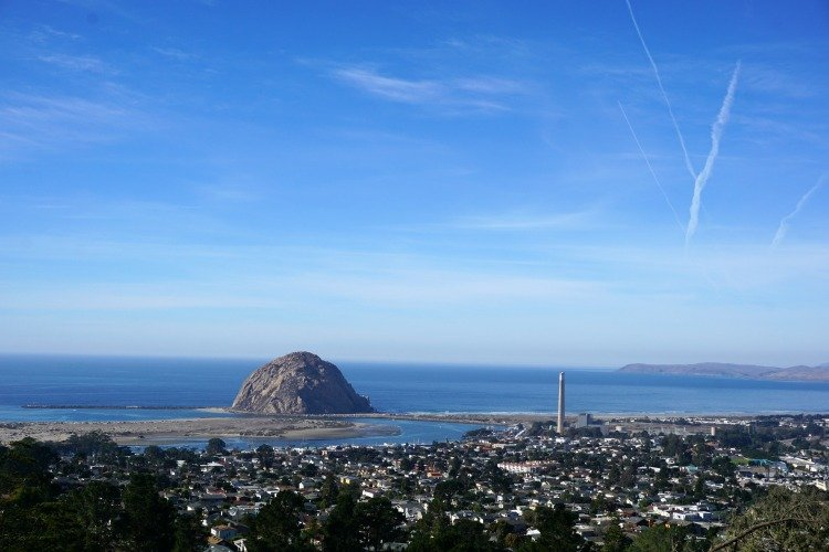 Black Hill, Morro Bay Rock, Morro Bay, Nine Sisters