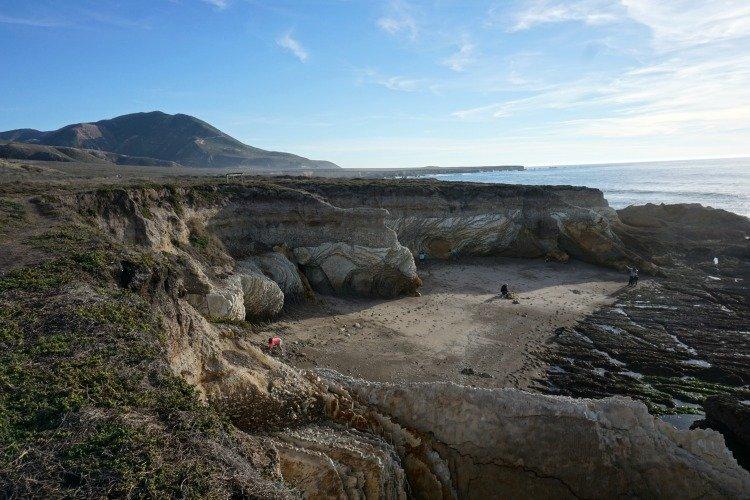 Corallina Cove, Montaña de Oro State Park, Morro Bay Camping