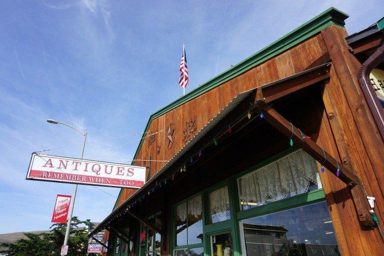 Cayucos California, Antique Shop