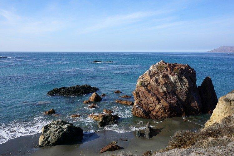 Cayucos Tides, Estero Bluffs State Park, Sea Stacks, Cliffs